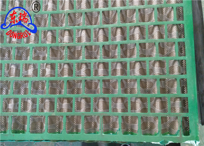 Oil Field Rock Shaker Screen Wave Type Vibration Screen For Solid Control Equipment